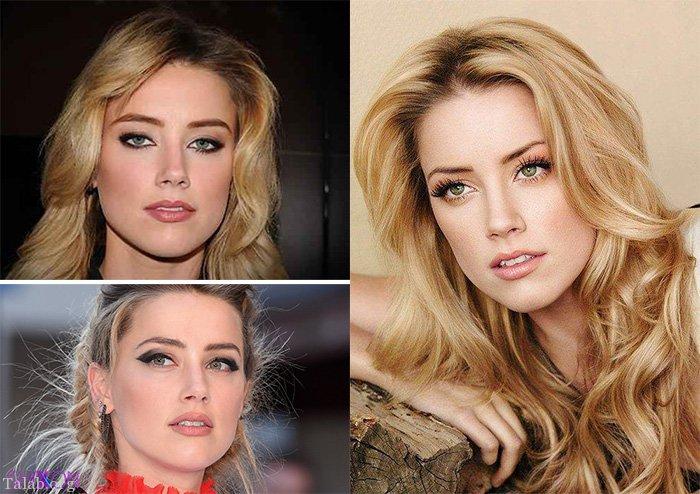 امبر هرد زیباترین زن جهان از نظر علمی   عکس های امبر هرد زیباترین زن جذاب جهان