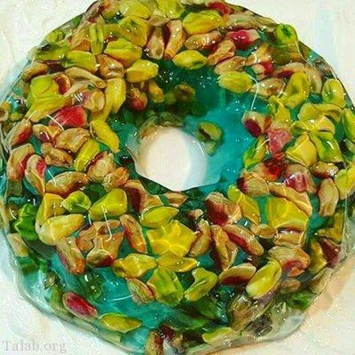 آموزش طرز تهیه ژله شکری خانگی خوشمزه عید نوروز