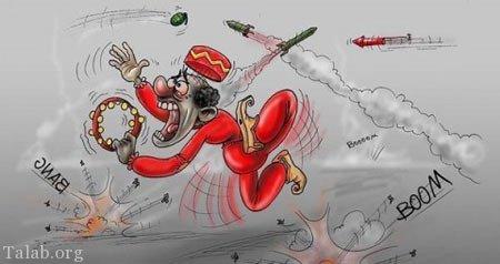 کاریکاتور چهارشنبه سوری 99 | متن طنز + شعر طنز چهارشنبه سوری