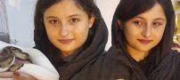 تصاویر سارا و نیکا فرقانی بازیگران سریال پایتخت در ایام نوروز 97