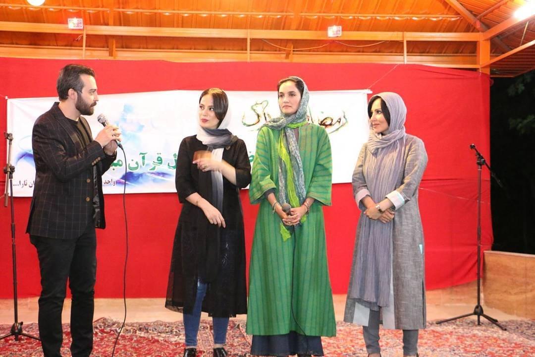 ازدواج مجری مشهور محمودرضا قديريان با بازیگر فرشته آلوسی (عکس)