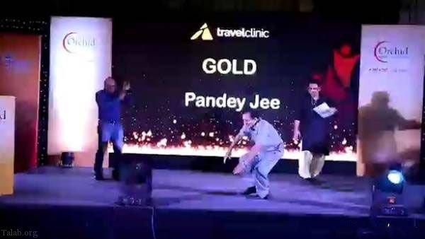 مرگ مرد پولدار در برنامه مسابقه رقص + عکس