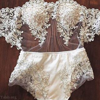 مدل های ست لباس زیر زنانه عروس 98 | لباس زیر زنانه برای شب زفاف