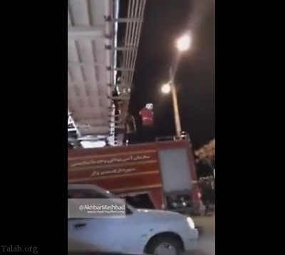 خودکشی دختر جوان در پل توحید (+ فیلم)