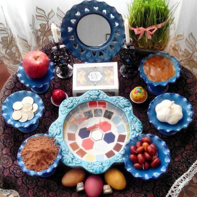60 مدل سفره هفت سین | سفره هفت سین زیبا برای عید نوروز