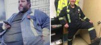 این مرده با اراده بعد از شکست 100 کیلو وزن کم کرد (عکس)