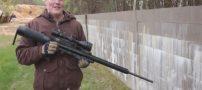 کلیپ دیدنی از تست قویترین تفنگ بادی دنیا