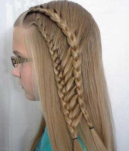 بهترین مدل مو دخترانه مجلسی زیبا و شیک 2020 | مدل موی بلند دخترانه 99