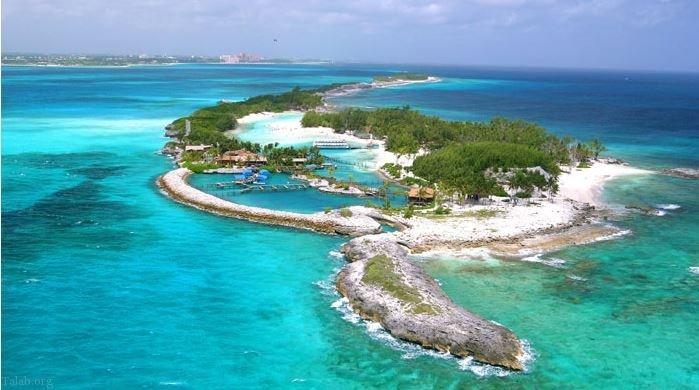 تفریح ستاره های مشهور هالیوود در جزیره های شخصی !
