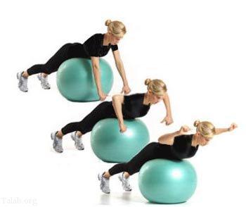 تمرینات ورزشی مناسب زنان برای فرم دهی و بزرگ كردن سينه