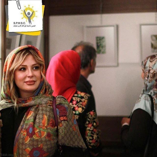 زایمان نیوشا ضیغمی در بیمارستان + نیوشا ضیغمی بعد از تولد دخترش لنا