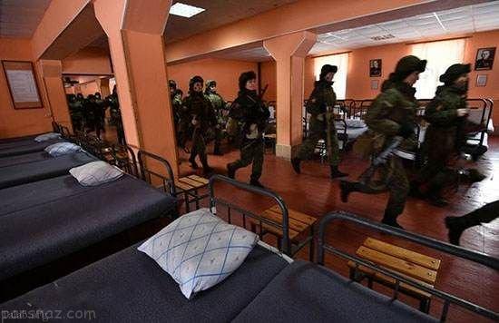 تصاویر جالب از دختران جذاب در ارتش روسیه