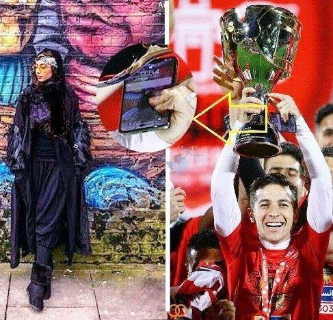افشای رابطه ترلان پروانه و با فوتبالیست مشهور فرشاد احمدزاده