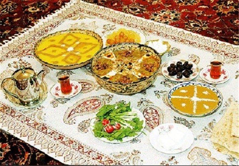 آموزش طرز تهیه فرنی رنگی خوشمزه ویژه افطار