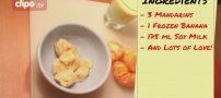 آموزش طرز تهیه اسموتی موز و نارنگی خوشمزه