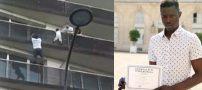 اعطای شهروندی فرانسه برای نجات کودک 4 ساله (+ عکس و فیلم)
