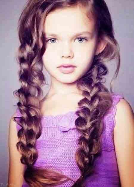 بهترین مدل مو دخترانه مجلسی زیبا و شیک 2021 | مدل موی بلند دخترانه 1400