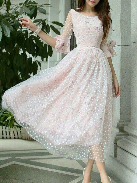 مدل لباس مجلسی زنانه شیک 99   لباس مجلسی گیپور 2020