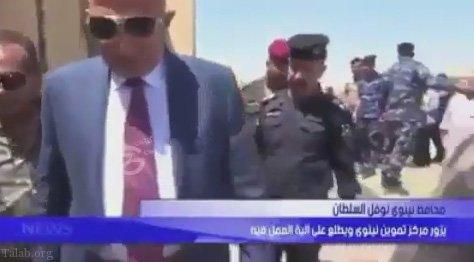 حرکت جالب یک استاندار در عراق (+فیلم)