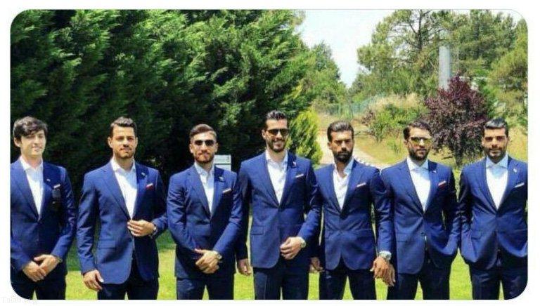 استایل جالب بازیکنان تیم ملی فوتبال در جام جهانی 2018 (عکس)