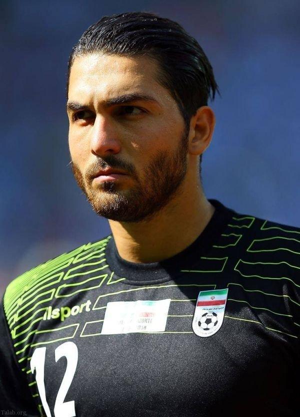 جذابیت فوتبالیست های ایرانی برای دختران خارجی در جام جهانی روسیه