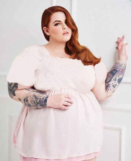 زیباترین زن چاق دنیا که عاشق مدلینگ است (عکس)