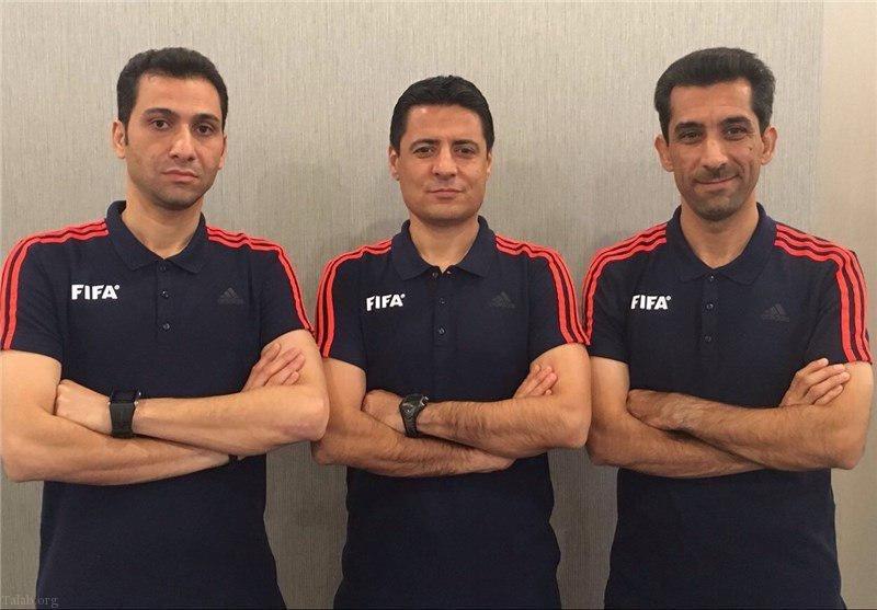 داوران ایرانی در جام جهانی 2018 روسیه (عکس)