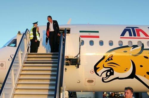 هواپیمای تیم ملی فوتبال ایران در جام جهانی 2018 روسیه