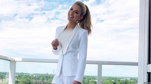 سارا رز دختر شایسته سال 2021 آمریکا شد (تصاویر)