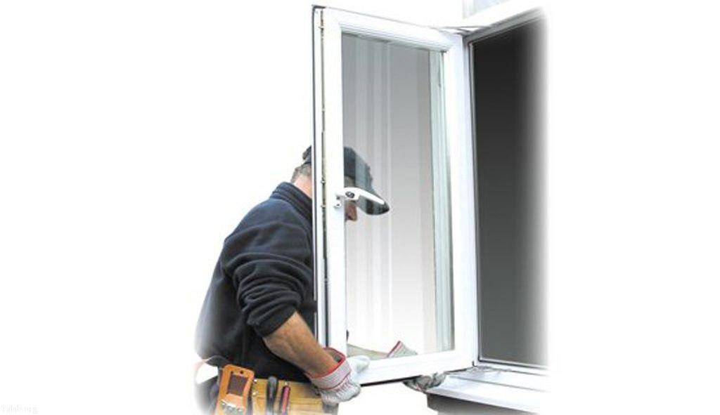 آموزش نصب پنجره های دو جداره upvc