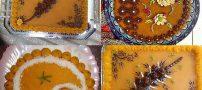 جدیدترین تزیینات حلوا نذری + مدل تزیین شله زرد نذری