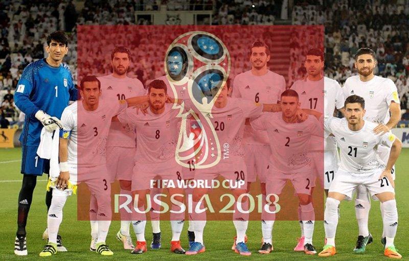 امضای تیم ملی فوتبال ایران روی توپ جام جهانی 2018 (عکس)