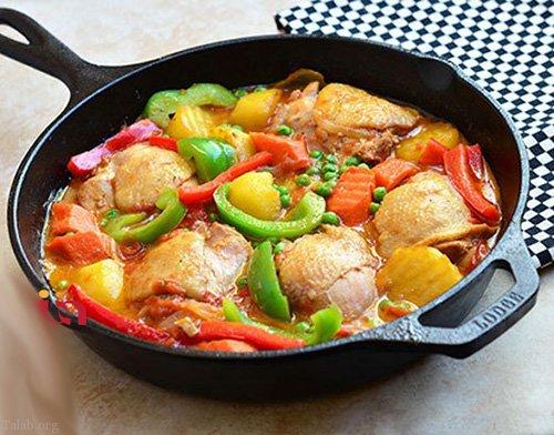 آماده کردن غذاهای فوری و سریع برای شام + غذای مجردی