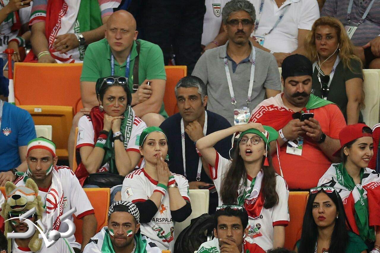 عکس پژمان جمشیدی و بهنام بانی در جام جهانی 2018 روسیه