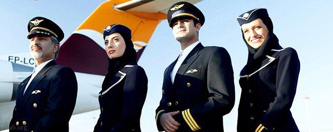 چگونه می توان در مهمانداری هواپیما استخدام شد؟