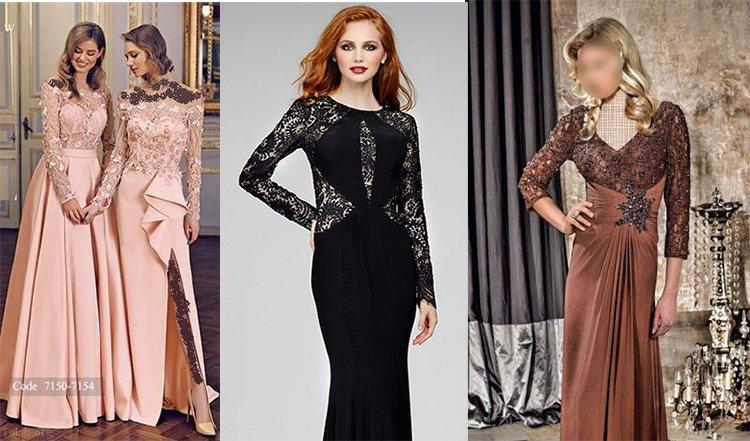 زیباترین مدل های لباس نامزدی گیپور 1400 – 2021