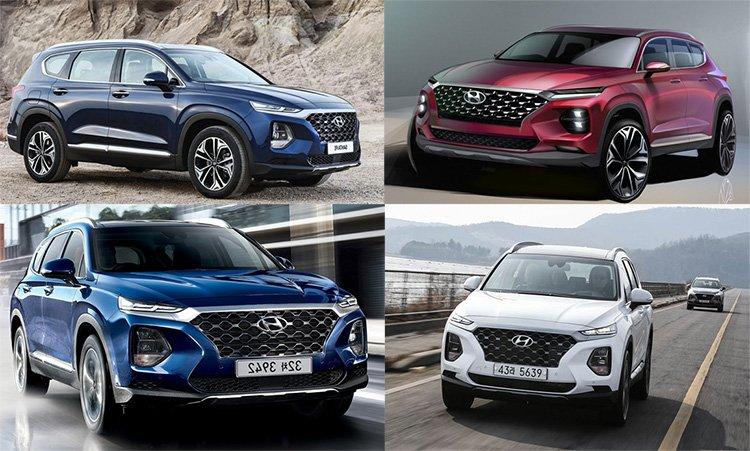 مشخصات خودرو سانتافه 2019 در مدل های مختلف (فیلم + عکس)