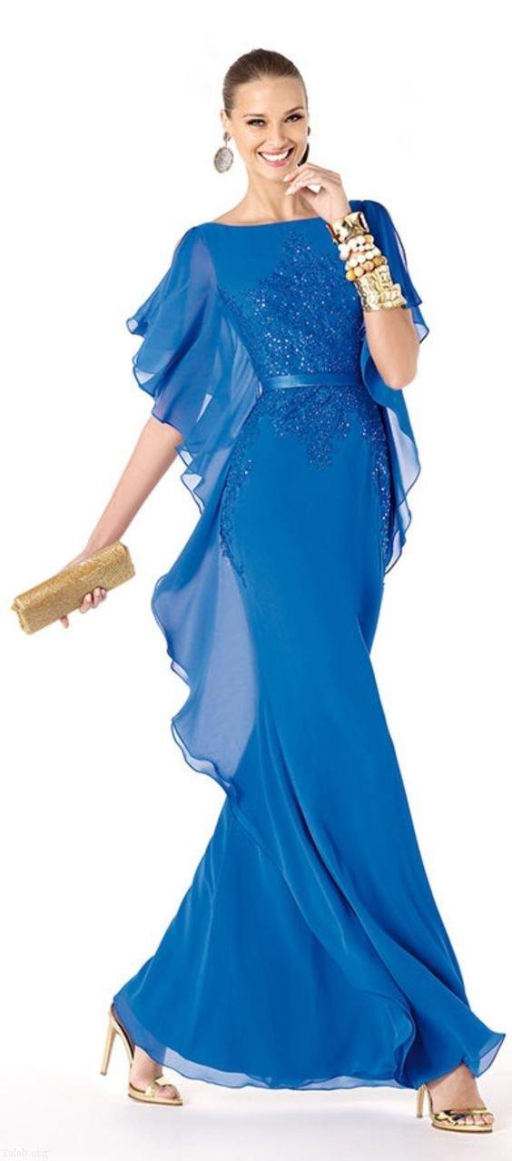 شیک ترین مدل های لباس مجلسی و لباس شب ویژه تابستان 97