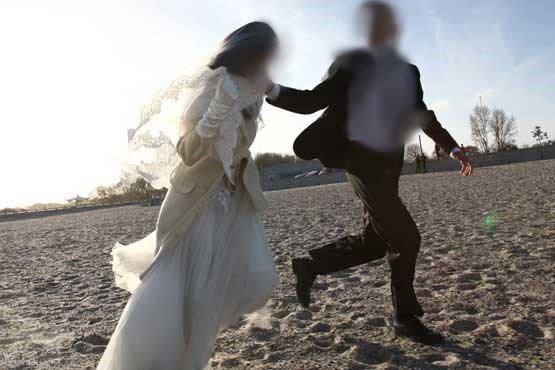 عروس که در شب عروسی داماد را به خاک سیاه نشاند !
