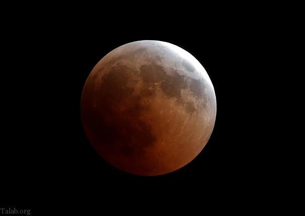 تصاویر طولانی ترین ماه گرفتگی قرن از سراسر دنیا