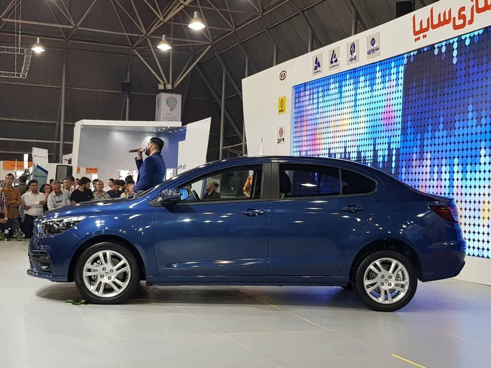 خودروی جدید سایپا رهام (عکس + مشخصات خودروی رهام)