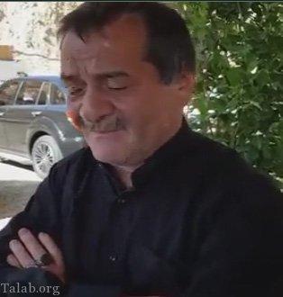 تسلیت امین آقا فرزانه به خانواده وحید مرادی (فیلم)