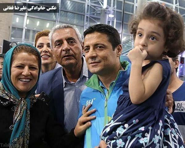 عکس و بیوگرافی علیرضا فغانی و همسرش + اینستاگرام علیرضا فغانی