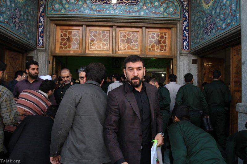 بیوگرافی کامل علی انصاریان + عکس های علی انصاریان و همسرش