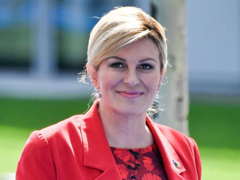 حرکت جالب رئیس جمهور کرواسی همه را غافلگیر کرد !+ عکس