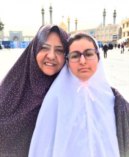 جدیدترین عکس رابعه اسکویی بعد از بازگشت به ایران در اینستاگرام