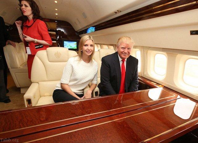 تصاویری از جت شخصی ترامپ و پوتین (جت لوکس رئیس جمهور)