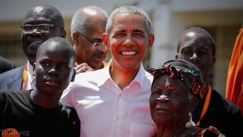 باراک اوباما در سفر به زادگاه خودش در آفریقا – کنیا (عکس)