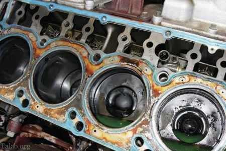 واشر سر سیلندر ماشین چیست؟ + دلایل سوختن واشر سرسیلندر