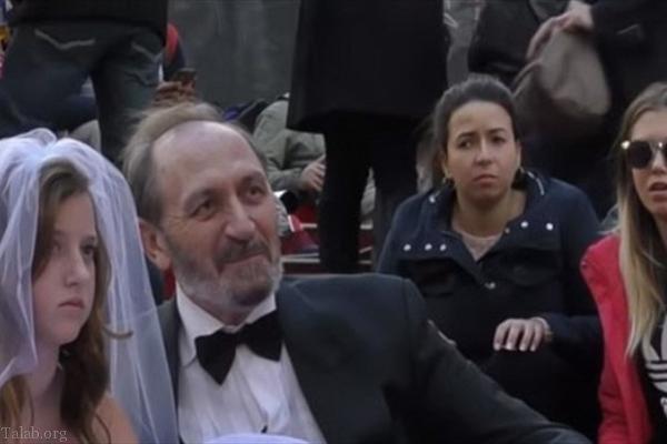 ازدواج جالب با دختر یک میلیاردر مشهور روس (عکس)